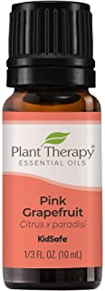 Plant Therapy Pink Grapefruit Essential Oil 10 mL (1/3 oz) 100% Pure, Undiluted, Natural Aromatherapy, Therapeutic Grade