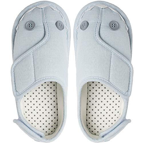 ルームシューズ 高齢者 介護シューズ 女性 リハビリシューズ 軽量 介護用靴 介護用のスリッパ 介護靴 女性用 室内履き 滑り止め