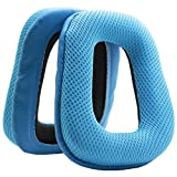 MMOBIEL Almohadillas de Reemplazo para Auriculares Compatible con Logitech G35 G930 G430 F430F450(Azul)