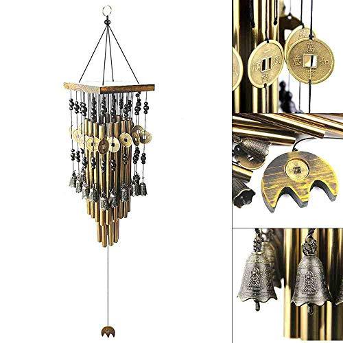 WAXY Type de Corne à Vent Grand Type Corne Porche Balcon Accueil carillons créatif Ornement