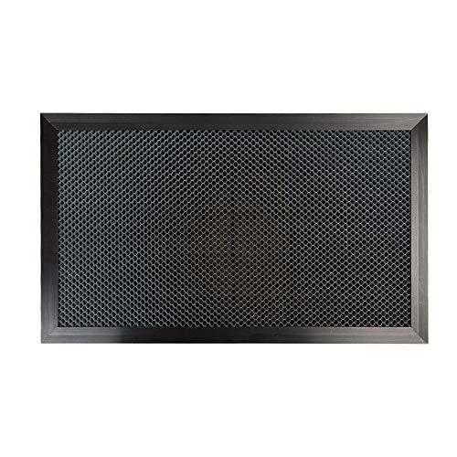 Mesa de trabajo de nido de abeja Cloudray 200 x 300 mm Diámetro de orificio: 7,5 mm Piezas de placa de plataforma láser de tamaño personalizable para máquina de corte y grabadora láser Co2
