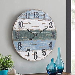 51kT1fZigzS._SS300_ Coastal Wall Clocks & Beach Wall Clocks