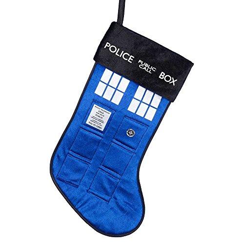 Kurt Adler Doctor Who Tardis Stocking, 19-Inch