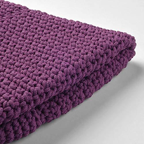 My Stylo Collection Sitzhocker für drinnen und draußen, violett, Produktgröße: Höhe: 41 cm, Durchmesser: 48 cm