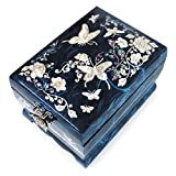 MADDesign RA-069 Jewelry Music Box, Blue