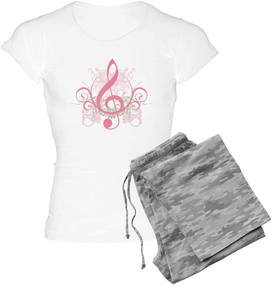 CafePress Cute Musician Max 71% OFF Bargain sale Gift PJs Light Women's