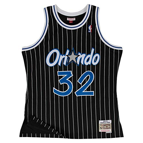 Mitchell & Ness Orlando Magic Shaquille O'Neal 1994 Alternate Swingman Jersey (X-Large)