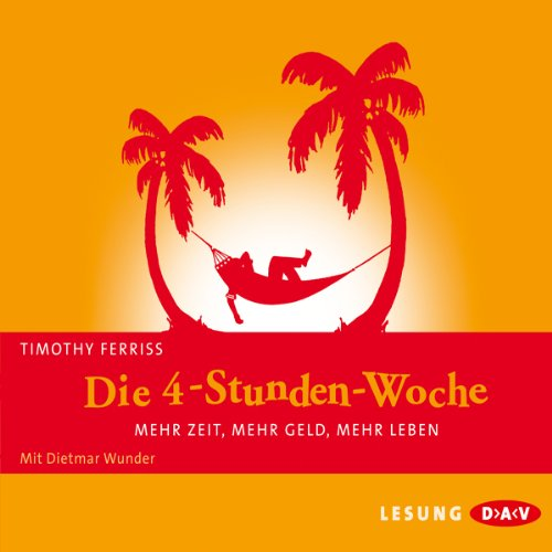 Die 4-Stunden-Woche     Mehr Zeit, mehr Geld, mehr Leben              Written by:                                                                                                                                 Timothy Ferriss                               Narrated by:                                                                                                                                 Dietmar Wunder                      Length: 4 hrs and 6 mins     Not rated yet     Overall 0.0