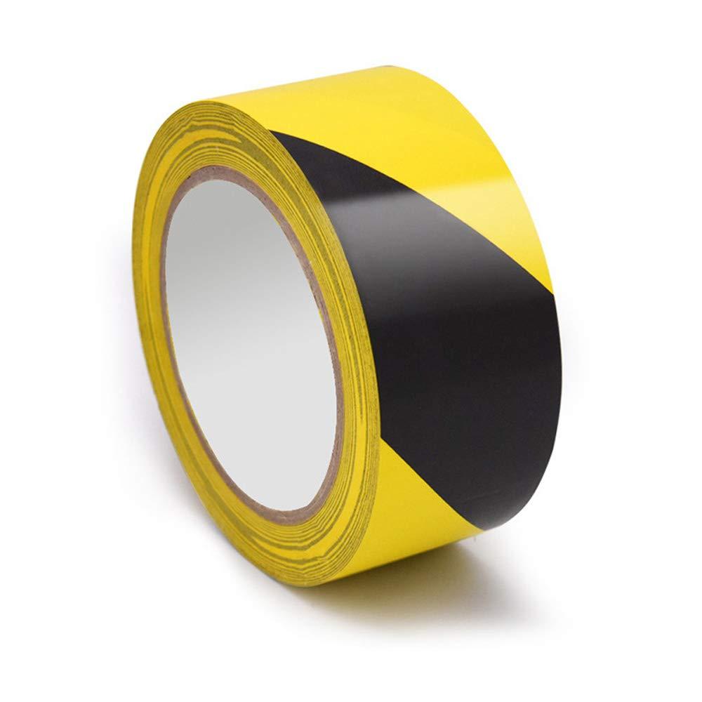 Hazard Warning Safety Stripe Tape(4.8cm X 18m)PVC