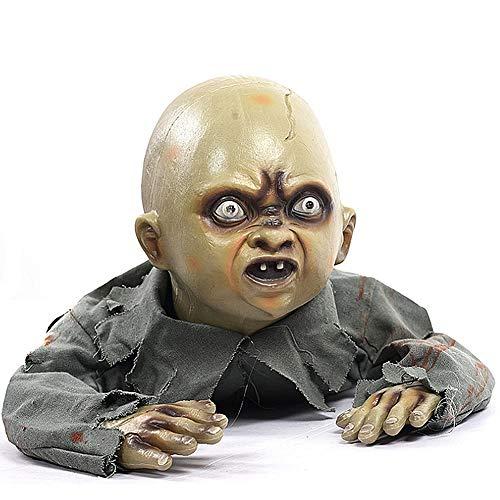 QHWJ Decoración De Halloween Piso De Apoyo De La Casa Embrujada De Zombies, Decoración De Control De Sonido, Adecuado para La Barra De KTV De La Casa Embrujada De La Fiesta De Halloween