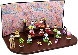 ピーナッツ 段飾り スヌーピー 陶器 雛人形 ひな人形 ミニつるし飾り特典付オリジナル雛人形 雛 ミニ 雛飾り 初節句 雛まつり