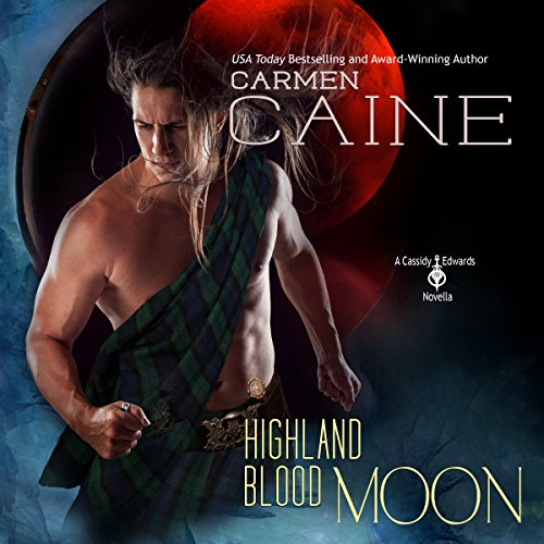 Highland Blood Moon audiobook cover art