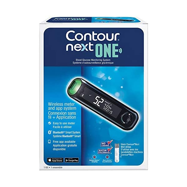 buy  Ascensia Contour Next One Brand New Bluetooth ... Blood Glucose Monitors