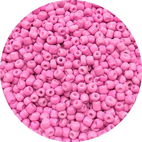 Cuentas de semillas de cristal 4 mm 200 UDS Pulsera Collar Cuentas para la fabricación de joyería Collar de fabricación DIY Pendientes-30