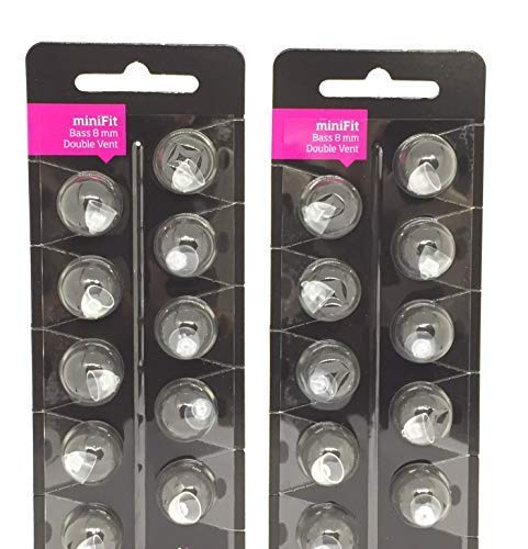 Minifit 8mm Double Bass Domes (2 Pack)