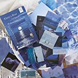 Washi Stickers Set Blue River Water Surface...