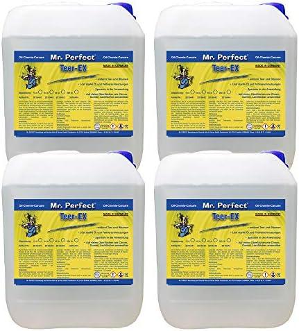 Mr Perfect Teerentferner 5 Liter Entferner Von Bitumen Und Teerflecken Für Auto Wohnmobil Und Werkzeuge Drogerie Körperpflege