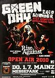 Green Day - Open Air, Mainz 2010 » Konzertplakat/Premium