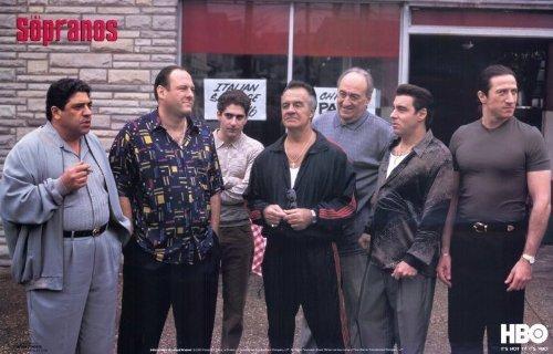 The Sopranos Movie Poster (11 x 17 Inches - 28cm x 44cm) (2004) Style C -(James Gandolfini)(Lorraine Bracco)(Edie Falco)(Michael Imperioli)(Dominic Chianese)(Vincent Pastore)