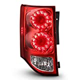 ACANII - For 2011-2019 Dodge Grand Caravan Factory LED Tail Light Brake Lamp Assembly Replacement Rear Left Driver Side