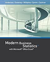 Modern Business Statistics With Microsoft Excel