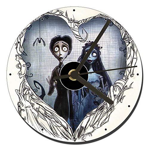 MasTazas La Novia Cadaver Corpse Bride Tim Burton C Reloj CD Clock 12cm
