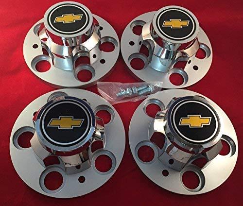 "Replacement Chevrolet Chevy GMC Truck 5 Lug 15"" 15x8 15x7 Rally Wheel Center HUB CAPS New"