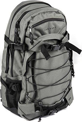FORVERT Backpack Laptop Louis, Grey, 51 x 29.5 x 15 cm, 26.5 Liter, 880192 by Forvert