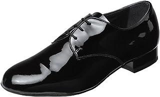 Supadance - heren standaard dansschoenen 9000 - lak zwart - normale breedte - 2,5 cm standaard