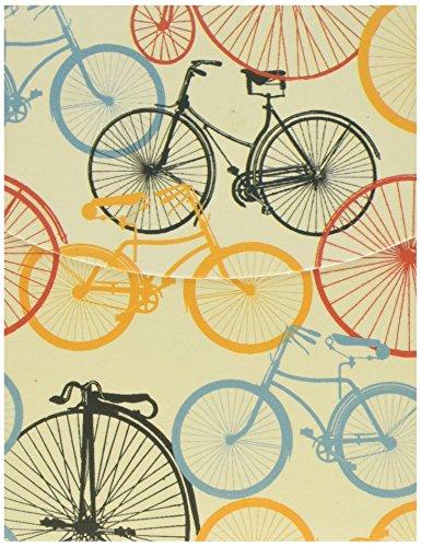 Robert Frederick Mini magnetische notitieboekjes in CDU-klassieke fietsen, geassorteerd, 30 x 10 x 4 cm