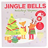 Cali's Books Jingle Bells. Christmas Sound Book for Babies and Toddlers. Interactive Children's Christmas Books with Favorite Christmas Songs. The best educational Christmas Gift for Kids