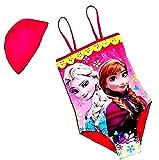 Disfraz de baño – apto para niña – Color fucsia – Completo con gorro – Idea regalo de cumpleaños fucsia 5-6 años