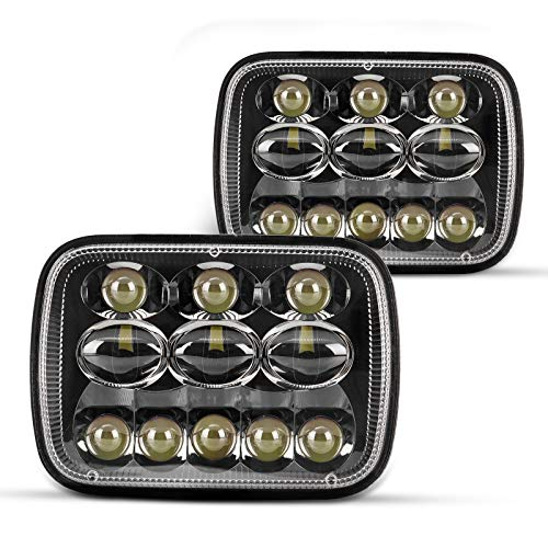 2PCS 5x7 7x6 Led Headlights from Torchbeam