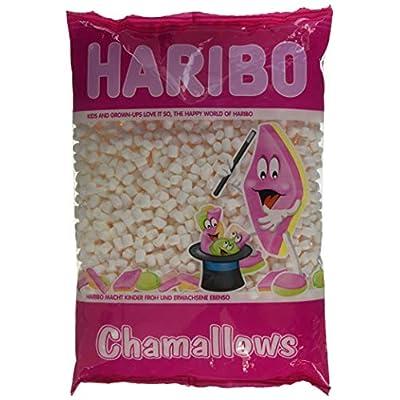haribo chamallows mini marshmellows - 1 kilogram bag (white) Haribo Chamallows Mini Marshmellows – 1 Kilogram Bag (White) 51kTEFY7IWL