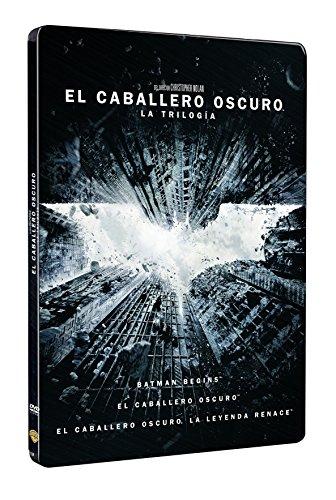 Pack Batman: Batman Begins, El Caballero Oscuro, La Leyenda Renace Steelbook [DVD]