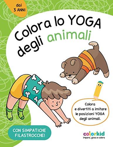 Colora lo Yoga degli animali: relax e antistress