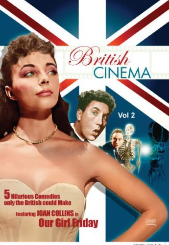 British Cinema Volume 2 - Comedy Collection: Disc One: Our Girl Friday & Dentist in the Chair Disc Two: Runaway Bus, Carry on Admiral & Time of His Life by Joan Collins