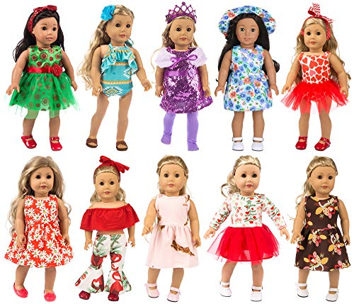 ZITA ELEMENT 22 Pcs Girl Doll Cl...