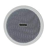 UOEIDOSB Amplificador de Clase D Digital Integrado Resistente al Agua Altavoz de Techo Bluetooth 10w Altavoz Activo de 5 Pulgadas para reproducción de música en Interiores