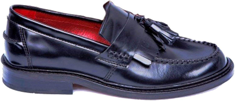 Delicious Junction svart Rude Boy Loafers Storleks 7 7 7 -11 Tillgänglig (UK 9)  kreditgaranti