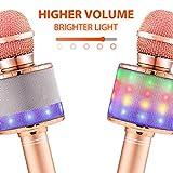 Immagine 2 fede microfono karaoke bluetooth wireless