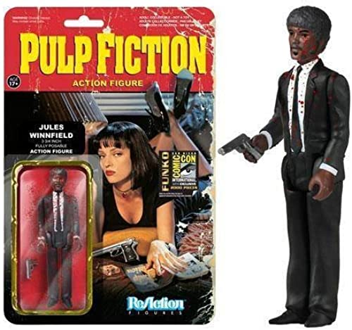 SDCC 2014 Pulp Fiction Jule Winnfield Bloody Variant Exclusive 3.75 Inch Figure Comic-Con by Pulp Fiction