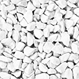 Knorr Prandell 218236200 Dekosteine 9-13 mm 500 ml, Farbe: Weiß