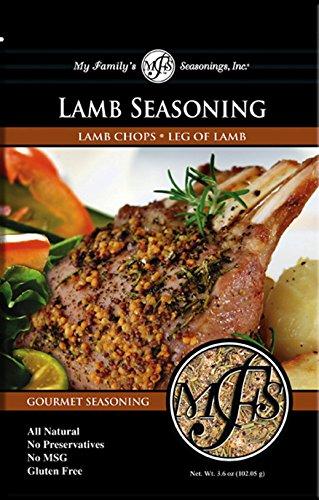 My Family's Lamb Seasoning, 3.6 oz Pouch