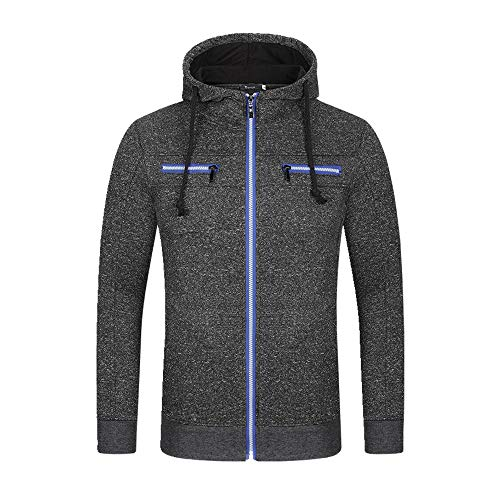 NOBRAND Nieuwe Heren vest Hooded Sweater Jacket