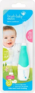 Brush-Baby BabySonic Electric Toothbrush for 0-36 Months