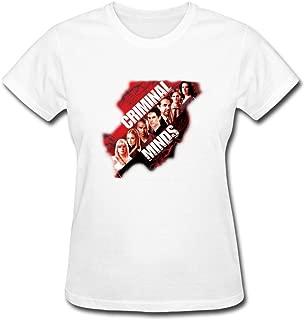 CNTJC Women's Mas Criminal Minds T Shirt XXL