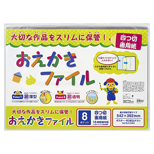 ナカバヤシ おえかきファイル 四つ切画用紙 CBCT-B3C