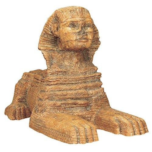 Design Toscano WU69354 Sculpture du Grand Sphinx de Gizeh moyen Multicolore 18 x 7,5 x 12,5 cm