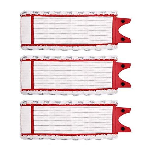 De Galen Recambios de repuesto de microfibra para fregona Vileda 1-2 Spray Mopping Fit para O Cedar Mop Accesorios de aspiradora